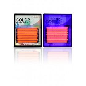 Fluorescentné UV ružové mihalnice C x 8-13 mm