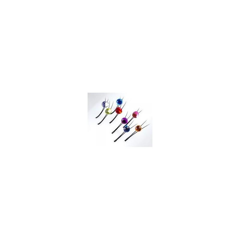 SWAROVSKI mihalnice, tvar C ( Y ) x 0,20 mm x 12 mm , 12 ks
