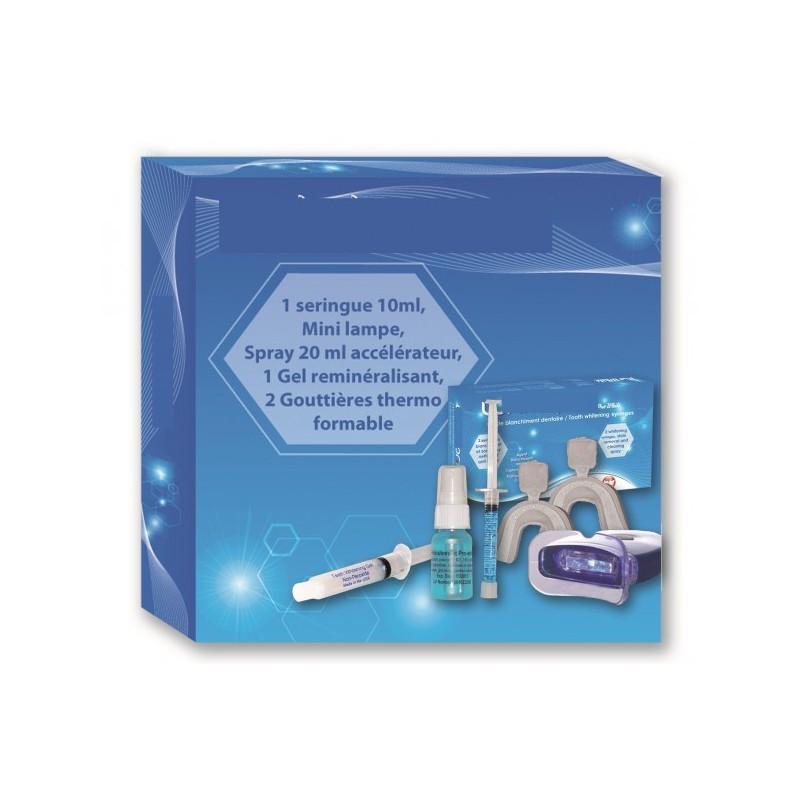 Súprava na domáce bielenie zubov