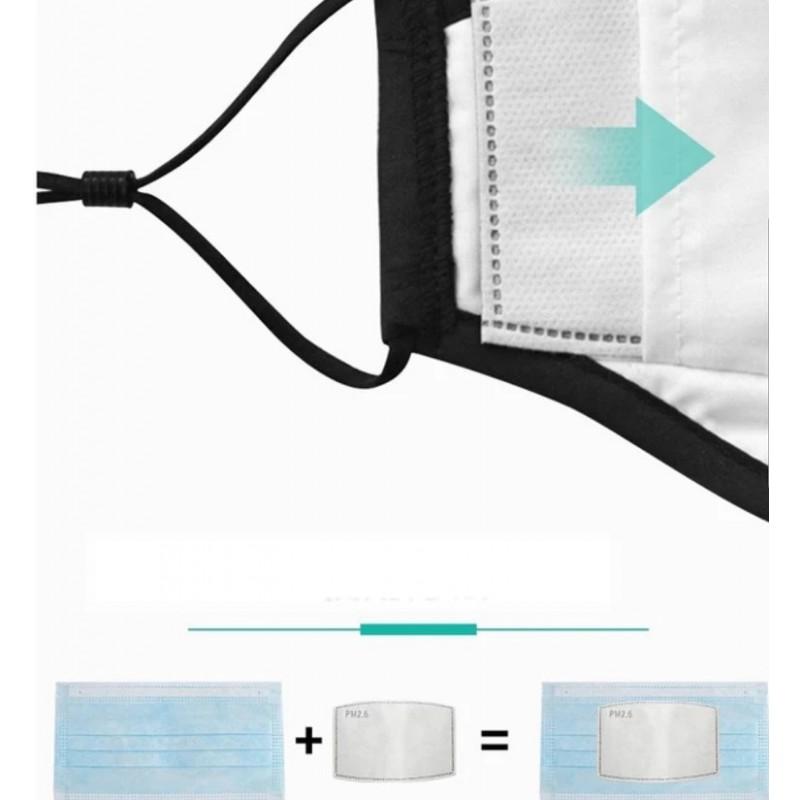 Výmenný filter do akéhokoľvek rúška PM 2,5 - 6ks
