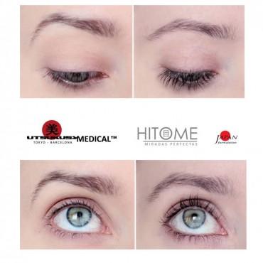 Utsukusy Hitome sérum na rast mihalníc 4ml + ZDARMA Dm.Cell dezinfekčný sprej 100 ml