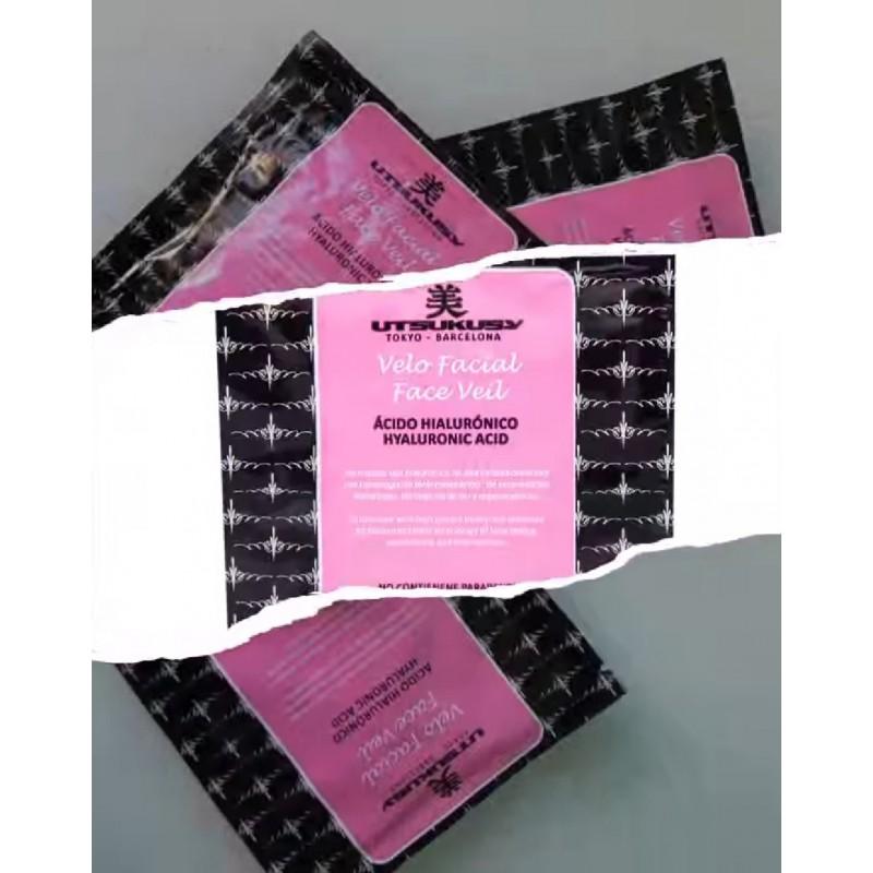 Pleťový závoj - maska kyseliny hyalurónovej